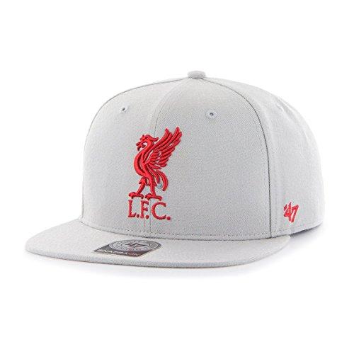 47 Brand Snapback Cap - FC Liverpool grau/rot -