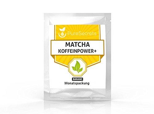 Matcha Koffeinpower