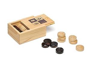 accesorios juegos de mesa: Juguetes Cayro - NG Classics, accesorios damas de madera (617.0)