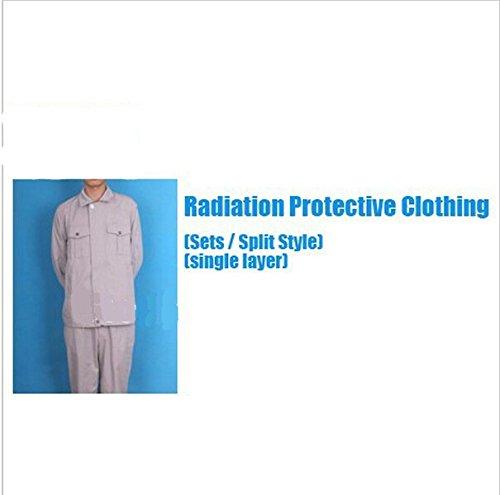 Gowe Strahlung Schutzkleidung-Sets mit Metall fibrose Leitfähige Gewebe Singel Schicht Schutz Anzug (Strahlung Schutzkleidung)