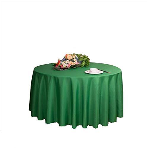 MAL Präsident Casual Dining Tablecloth, Hotel Tischdecke Weiße Runde Tischdecke (größe : 280 cm)