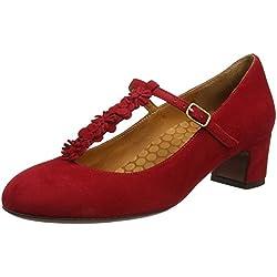 Chie MiharaNajo - Zapatos con tacón mujer, color rojo