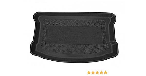 Kofferraumwanne Mit Anti Rutsch Passend Für Toyota Yaris Iii Hb3 5 09 2011 Erhöhte Ladefläche Mit Doppeltem Boden Im Kofferraum Auto