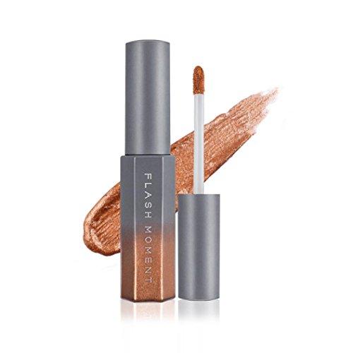 Fards à paupières,Liquide Shimmer Glitter fard à paupières poudre Palette mat cosmétiques fard à paupières maquillage ombre à paupières liquide Glitter ensemble par LHWY (F)