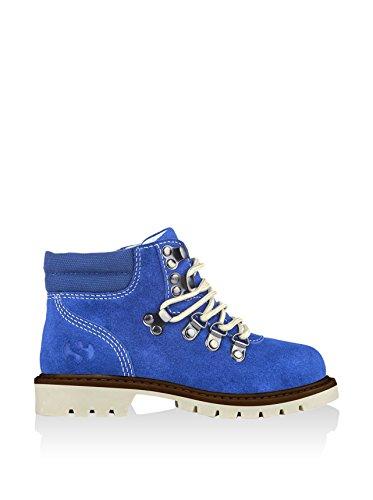 Superga 4363- SUEJ S004200 Unisex - Kinder Stiefel Blau/Intense Blue
