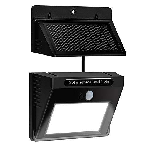 Solarlampe Garten, Matone Solarleuchten mit Bewegungsmelder [Trennbarer Solarpanel] 10 LED Wasserdichte Solarbetriebene Leuchte Solarlicht für Garten, Balkon, Lager, Außenwand