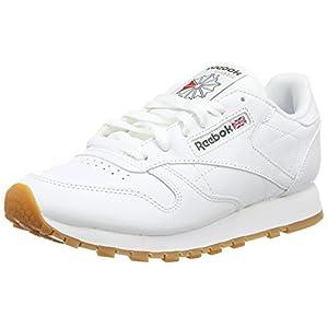 4170Tuf6HmL. SS300  - Reebok Boys' Classic Leather Gymnastics Shoes