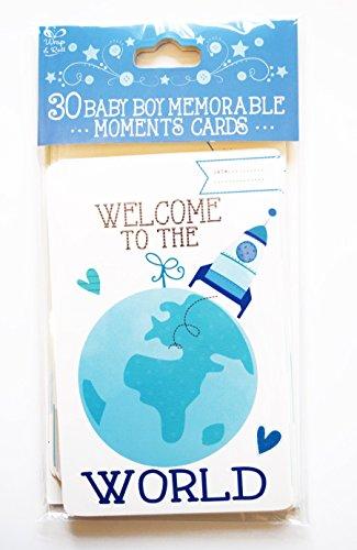 30Baby Boy unvergessliche Karten