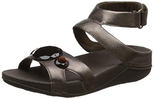 FitFlop Luna Pop Gladiator Sandals, Sandales à Talon Femme