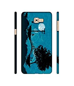 Rabotac Bridge Sketch Design 3D Printed Hard Back Case Cover for Samsung Galaxy C9 Pro