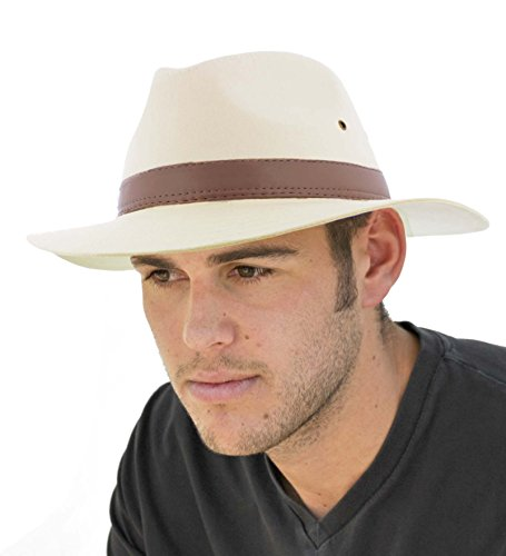 Mens Cotton Fedora A232 (Small 57cm)