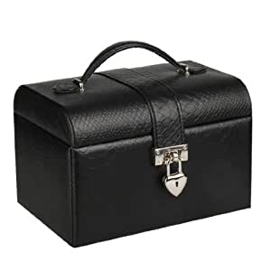 Rowling Jewellery Display Box jewellery Earing Ring Storage Case Faux Leather ZG191