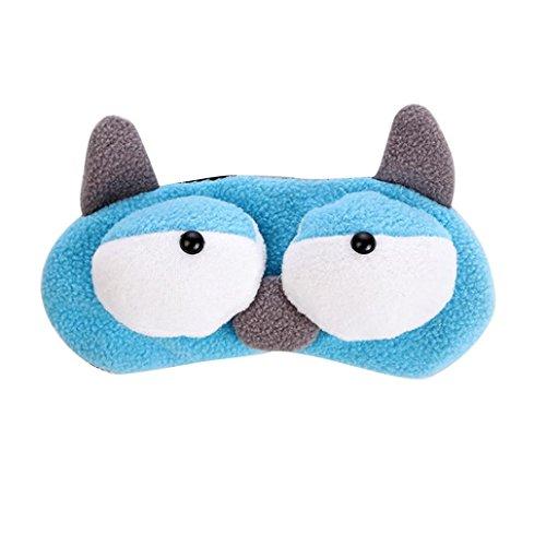Preisvergleich Produktbild BZLine® Cute Eye Mask Shade Ice Pad Blindfold Shield Travel Sleeping Aid (A)