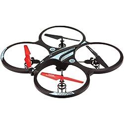 Arcade OrbitCAM XL - Drone cuadricóptero de largo alcance con cámara, color negro