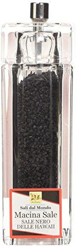 Macina di Sale Nero Delle Hawaii, 80 gr