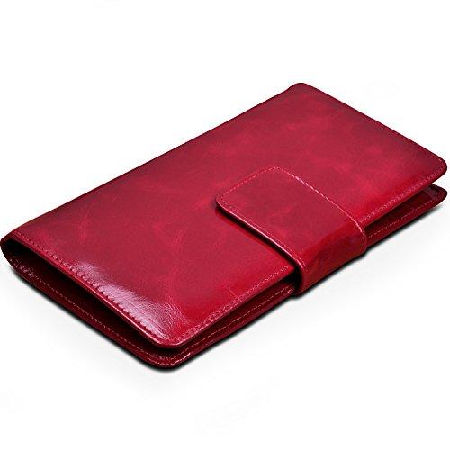 yaluxe-donna-cera-pelle-bi-fold-borsa-karte-organizer-rosso