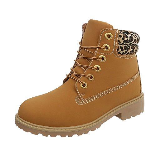 Zapatos para Mujer Botas Tacón Ancho Botines con Cordones Tamaño 37