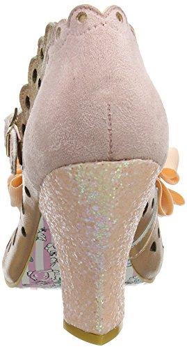 Irregular Choice Damen Upside Down Mary Jane Halbschuhe Pink (Pink)