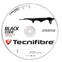 Tecnifibre - Cordajes tenis - black code 1,24 mm 200 m