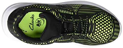 Clarks Sprintlane Jnr, Sneakers basses garçon Jaune (Yellow)
