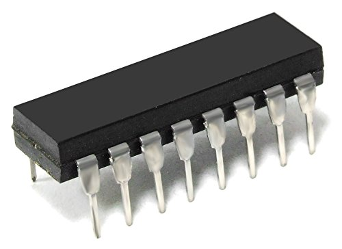 Tesla SN74LS157 Quadruple Data Selector Multiplexer Encoder DIP-16 IC Chip 74157 (Generalüberholt)