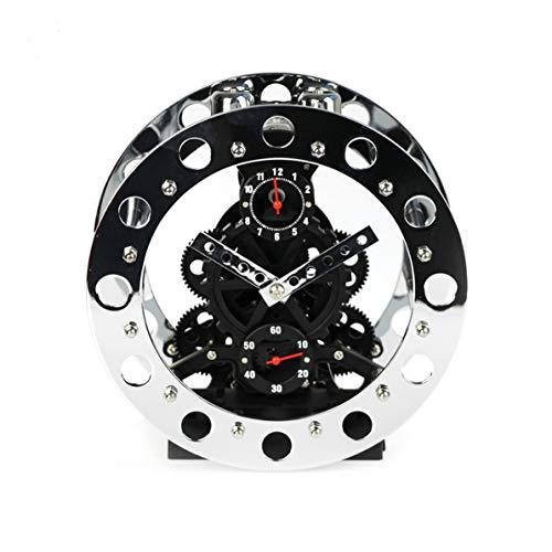 WEIWEITOE Engranaje Rueda Mecanismo Reloj Metal Creativo