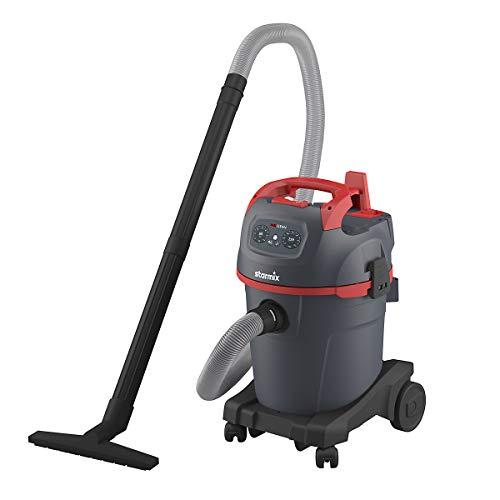 Starmix Nass- und Trockensauger - Profi-Grobschmutzsauger, 32 l, Leistung 1400 W - Nasssauger Trockensauger Staubsauger Gewerbestaubsauger Sauger Bodenstaubsauger Industriestaubsauger Nass- und
