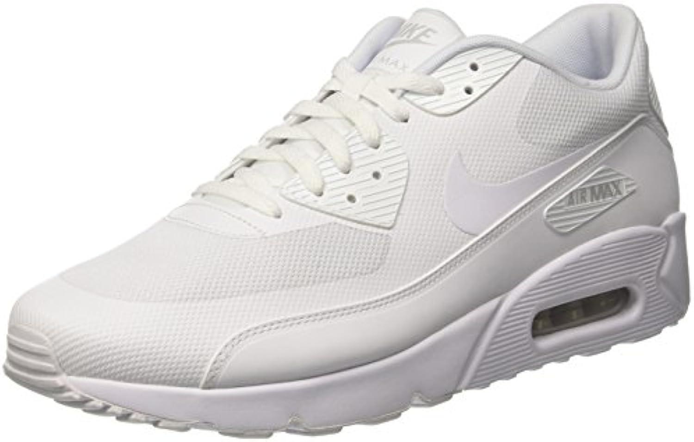 Nike Air MAX 90 Ultra 2.0 Essential, Zapatillas para Hombre, Blanco (White/White/White/Pure Platinum), 46 EU