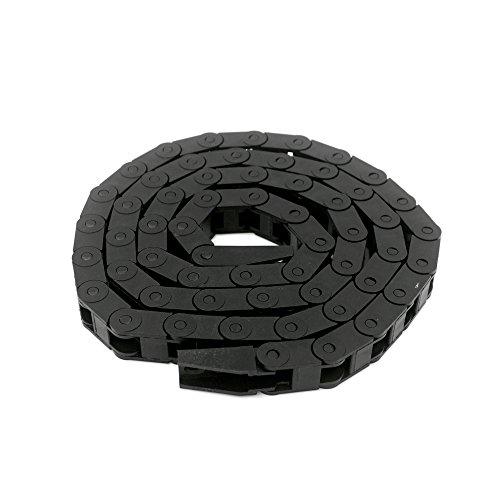 Redrex 7x7mm Plastic Towline Porte-câbles Chaîne de Dragage pour Câblage d'imprimante 3D Machines CNC