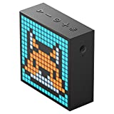 Divoom Timebox-Evo Bluetooth-Pixel-Kunstlautsprecher mit 16 * 16 Mobile App Programmierbares LED-Panel (Schwarz)