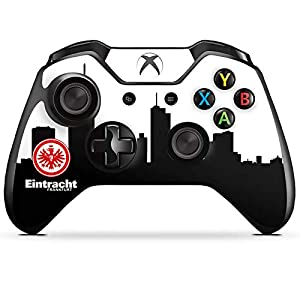DeinDesign Skin kompatibel mit Microsoft Xbox One Controller Folie Sticker Offizielles Lizenzprodukt SGE Eintracht…
