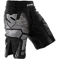 SMMASH DARK SAMURAI Pantalones cortos de deporte para hombre para el entrenamiento de MMA, BJJ, UFC y gimnasio (M)