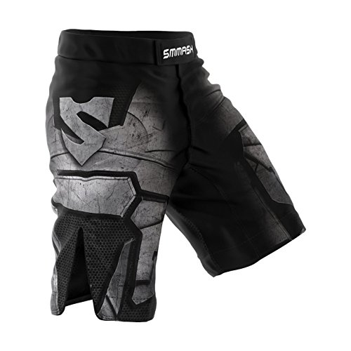 Smmash Shorts DARK KNIGHT Boxen Kampfsport MMA BJJ UFC (XXL)