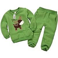 Vine Felpe per Bambini Vestiti Casuali dei Bambini Abbigliamento Prima Infanzia Vello Manica Lunga Tops + Pantaloni