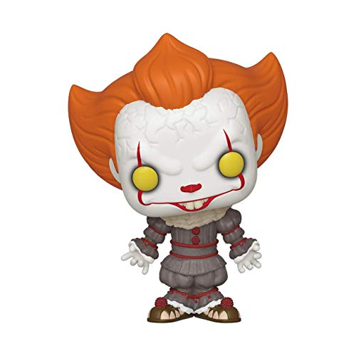 Funko 40627 POP Vinyl: Movies: IT: Chapter 2-Pennywise w/Open Arms Sammelbares Spielzeug, Mehrfarben