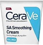 CeraVe SA Smoothing Cream | 177ml/6oz | Moisturiser for Dry, Rough & Bumpy Skin