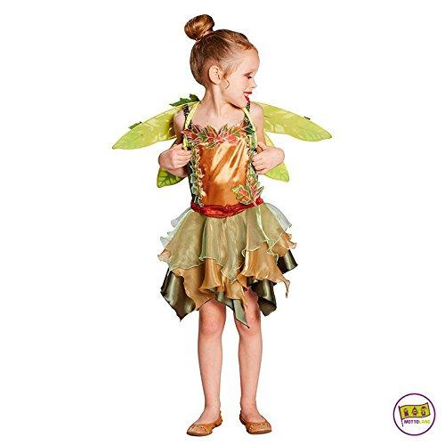 Dunkel Elfen Kostüm - Mottoland Kinder Kostüm Elfenmädchen Elfe Mädchen Kleid Fasching Karneval: Größe: 140