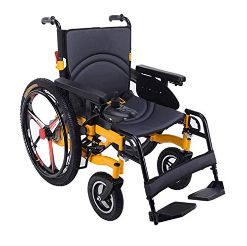 AGGF Elektrischer Rollstuhl Faltbarer älterer Behindertenhilfe-Auto älterer intelligenter kompakter automatischer tragbarer Leichter Roller Freie Installation - Elektro-roller-rampen