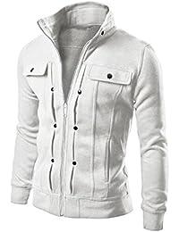 2eafc69588899 QUINTRA Men Winter Coats and Jackets Mens Slim Designed Lapel Cardigan Coat