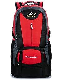 Bolso de alpinismo bolso de ocio de gran capacidad caminando al aire libre doble bolsa de hombro bolsa de pareja , red