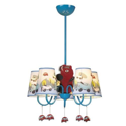 Jungen Cartoon Auto Schlafzimmer Kronleuchter Lampe Mediterraner Kid 's Room Anhänger Leuchten Kinder Pendelleuchte - 3