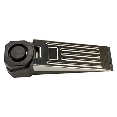 Türstopper Alarm (Türstopper Alarm Keil | Türalarm Stopper 100dB | Ideale Türsicherung Einbruchschutz Ergänzung | Türstopper 100% rutschfest)