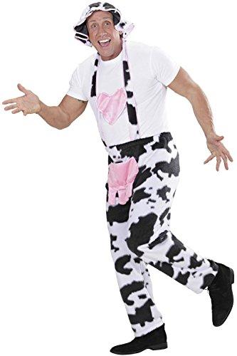 Latzhose Kuh mit Hut - Kuh Kostüm Gr. (Kostüm Bierfest Deutsche)