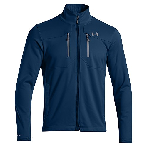 Under Armour Men's UA Storm Coldgear Infrared Softershell Jacket Petrol Blue / Steel