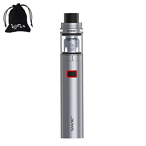 Authentic SMOK Stick X8 Vape Pen Kit 3000mAh E-Cigarette with TFV8 X-Baby TANK 2mL TPD Compliant Electronic Cigarette No E Liquid, Nicotine Free(Silver)