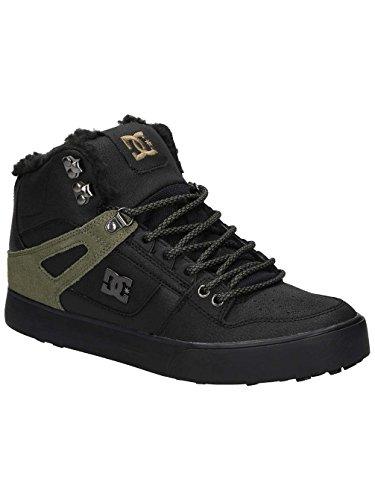 DC Shoes Spartan High WC WNT, Sneakers Hautes Homme Marron - Black Olive