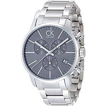 Calvin Klein K2G27143 - Orologio da polso Uomo, Acciaio inossidabile, colore: Argento - Calvin Klein Cinturini