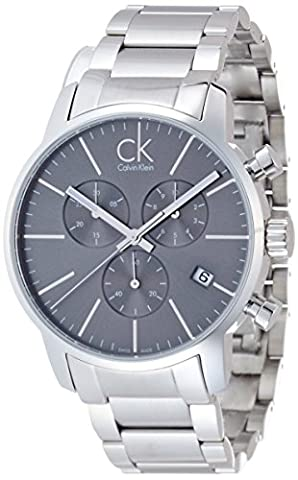 Calvin Klein Men's Quartz Watch K2G27143 with Metal Strap