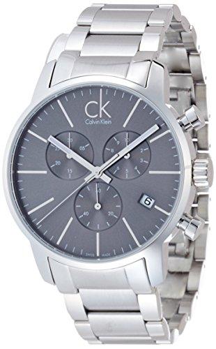 Calvin Klein-Reloj de pulsera hombre cronógrafo cuarzo acero inoxidable k2g27143