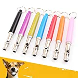 Pet Dog Training Whistle for Dog Trainers Random Color as per Availability Material: